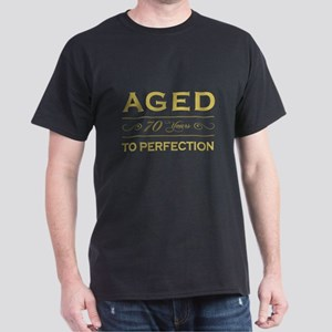 Stylish 70th Birthday Dark T-Shirt